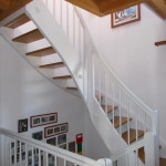 Treppe weiss