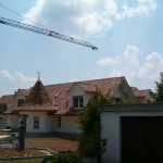 Dach mit Turm